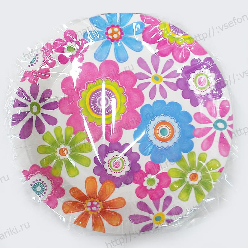 Бумажные тарелки своими руками фото