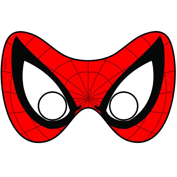Маска паук из бумаги своими руками